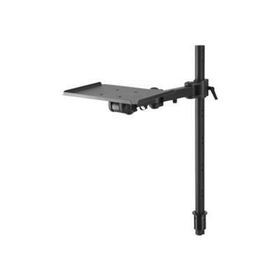 Atdec TH-TVCB-CM Telehook TH-TVCB-CM - Mounting component ( mounting pole  cart shelf ) for video conference camera - steel - black - for Telehook TH-TVCB