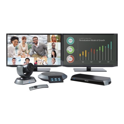 LifeSize Communications 1000-0000-1161 Icon 600 - Dual Display video conferencing kit - with  Phone Second Generation and Camera 10x