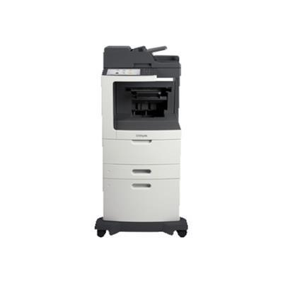 Lexmark 24T7417 MX810dxpe - Multifunction printer - B/W - laser - Legal (8.5 in x 14 in) (original) - A4/Legal (media) - up to 55 ppm (copying) - up to 55 ppm ( 9744025