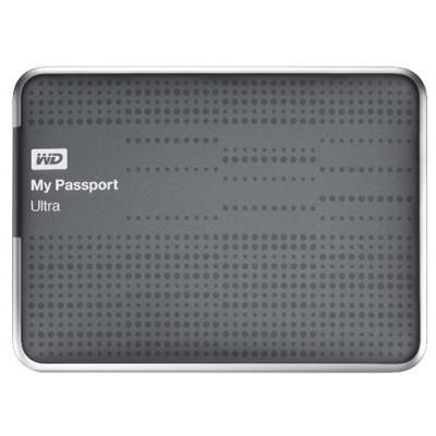 WD WDBPGC5000ATT-NESN 500GB My Passport Ultra - Titanium