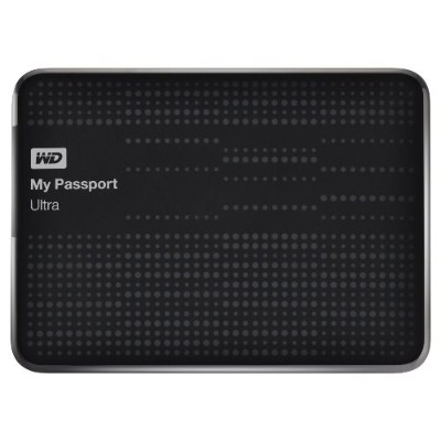 WD WDBZFP0010BBK-NESN 1TB My Passport Ultra - Black