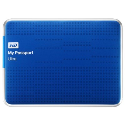 WD WDBZFP0010BBL-NESN 1TB My Passport Ultra - Blue