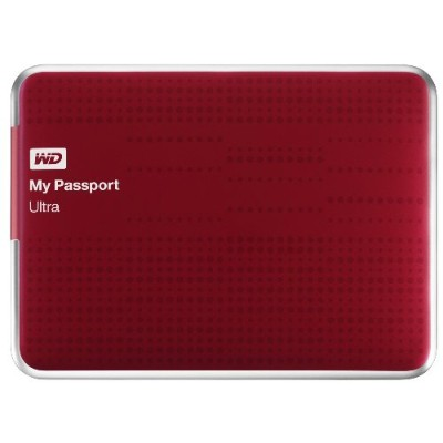 WD WDBZFP0010BRD-NESN 1TB My Passport Ultra - Red