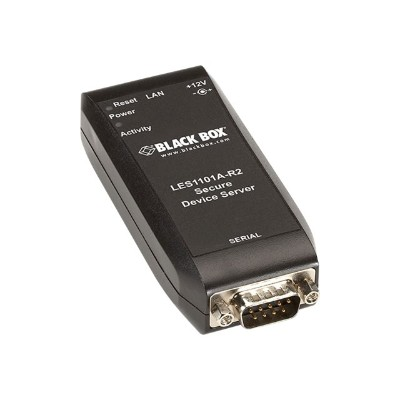 Black Box LES1101A-R2 Value Line - Device server - 10Mb LAN  100Mb LAN  RS-232