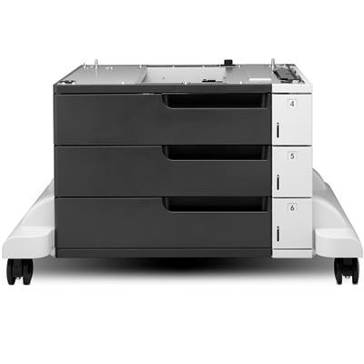 HP Inc. CF242A LaserJet 3x500-sheet Feeder and Stand