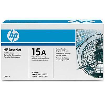 HP Inc. C7115A LaserJet C7115A Black Print Cartridge