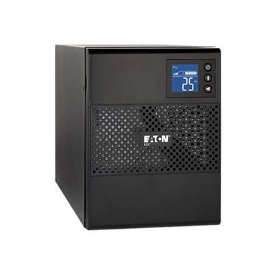 Eaton Corporation 5SC1000 5SC 1000 - UPS - AC 120 V - 700 Watt - 1000 VA - RS-232  USB - output connectors: 8 - black