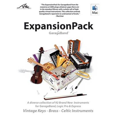 A diverse collection of brand new instruments for GarageBand AMG plug the gaps in the factory library with all your most requested instruments.