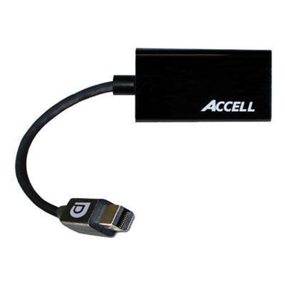 Accell B086B 005B 2 UltraAV Video adapter DisplayPort HDMI HDMI F to Mini DisplayPort M shielded