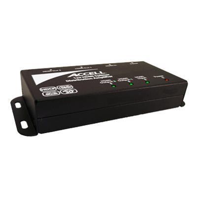 Accell K078C 005B UltraAV 1X2 Audio Video HDMI Splitter Video audio splitter