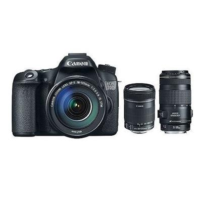 EOS 70D CAMERA W/ EF-S 18-135MM IS AND