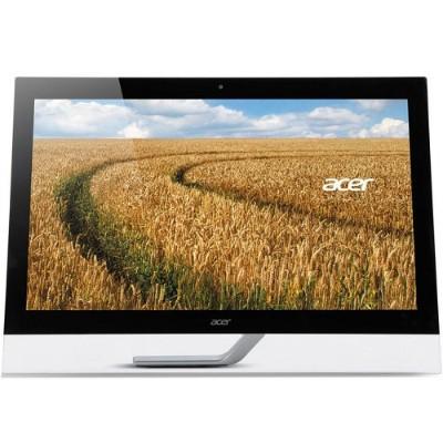 Acer UM.HT2AA.002 T272HUL - LED monitor - 27 - touchscreen - 2560 x 1440 QHD - 300 cd/m² - 5 ms - HDMI  DVI  DisplayPort - speakers - black