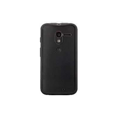 Griffin GB38037 Reveal Ultra-thin hard-shell - Protective cover for cell phone - polycarbonate - black - for Motorola MOTO X (1st Gen.)