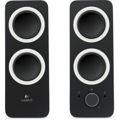 Logitech 980-000800 Multimedia Speakers Z200 - Black