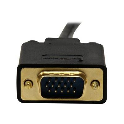 StarTech.com DP2VGAMM6B 6ft DisplayPort to VGA Adapter Cable - Active DisplayPort to VGA Video Converter for PC 1920x1200 - Black