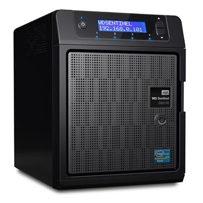 WD WDBYVE0040KBK-NESN Sentinel DS5100 4TB Ultra-Compact Storage Plus Server with Windows Server 2012 R2 Essentials