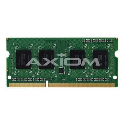 Axiom Memory AXG53493694/1 DDR3L - 4 GB - SO-DIMM 204-pin - 1600 MHz / PC3-12800 - 1.35 V - unbuffered - non-ECC - for Dell Inspiron 3521  Latitude 3330  E6330