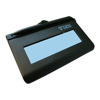 Topaz System T-LBK460-BSB-R SigLite LCD 1X5 T-LBK460-BSB-R - Signature terminal w/ LCD display - 4.4 x 1.3 in - wired - serial