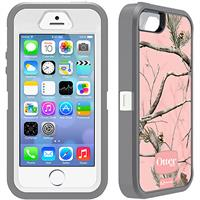 Otterbox Defender Realtree Series Hybrid Case & Holster for iPhone 5 & 5s - AP Pink