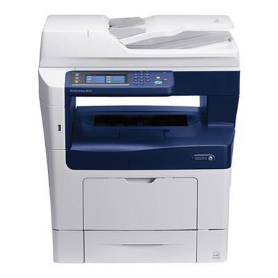 Xerox 3615/DNM WorkCentre 3615 Monochrome Laser Multifunction Printer - Metered
