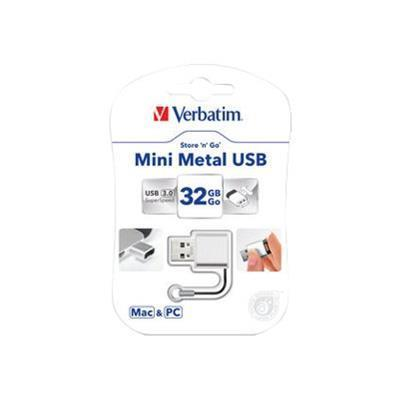 Verbatim 49840 Store 'n' Go Mini Metal - USB flash drive - 32 GB - USB 3.0