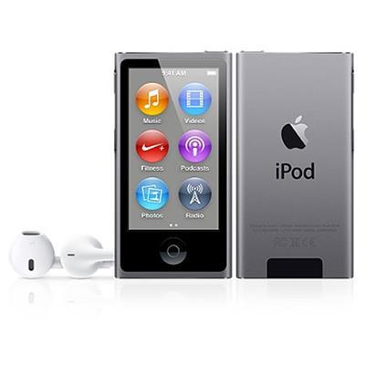 Apple ME971LL/A iPod nano 16GB Space Gray (7th Generation)