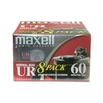 Maxell 109085 UR 60 - Cassette - 8 x 60min - Normal BIAS