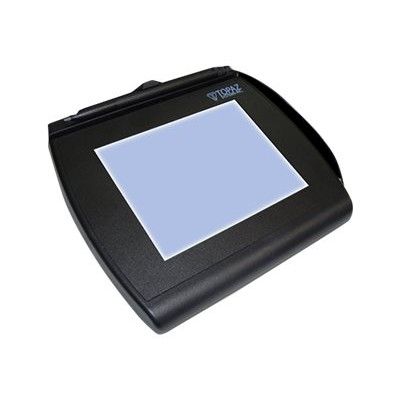 Topaz System T-LBK766-BBSB-R SignatureGem LCD 4x5 T-LBK766-BBSB-R - Signature terminal w/ LCD display - 4.6 x 3.4 in - electromagnetic - wired - serial  USB