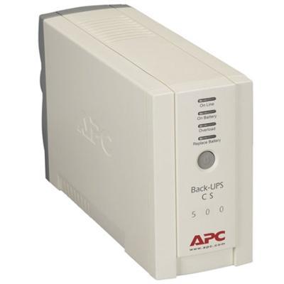 APC BK500 Back-Ups Cs/6 Outlet/500Va/120V/Ups/Bge