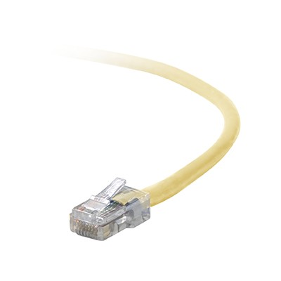 Belkin A3L791-10-M Patch cable - RJ-45 (M) to RJ-45 (M) - 10 ft - UTP - CAT 5e - molded - gray - for Omniview SMB 1x16  SMB 1x8  OmniView IP 5000HQ  OmniView SM