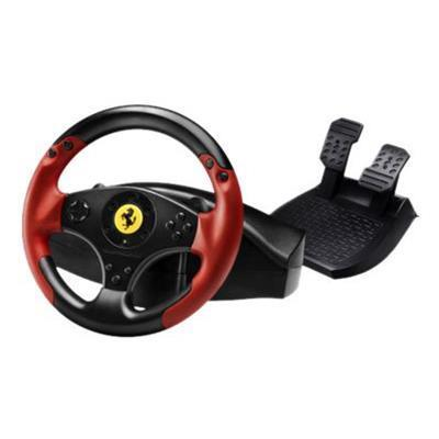 Guillemot 4060052 Ferrari Red Legend Edition - Wheel and pedals set - wired - for Sony PlayStation 3