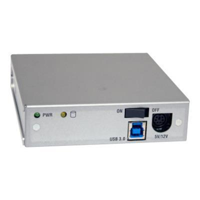 CRU-DataPort 6603-4071-0901 DataPort Data Express MoveDock - Storage mobile rack - 3.5 - SATA 3Gb/s - 300 MBps - USB 3.0 - silver