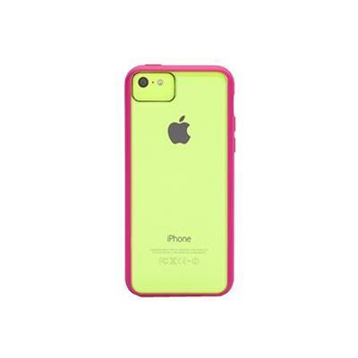 Griffin GB39085 Reveal Ultra-thin hard-shell - Protective cover for cell phone - polycarbonate  rubber - hot pink - for Apple iPhone 5c