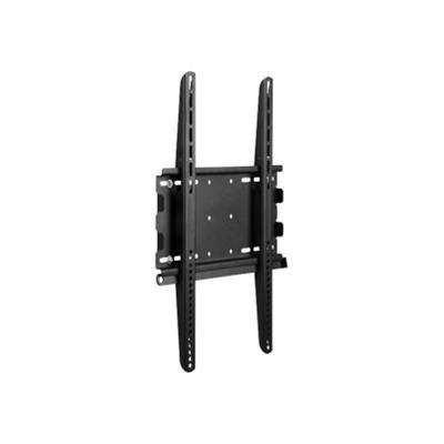 Atdec TH-3070-UFP Telehook TH-3070-UFP - Mounting kit ( wall plate  security bracket  2 brackets ) for LCD / plasma panel - steel - black powder coat
