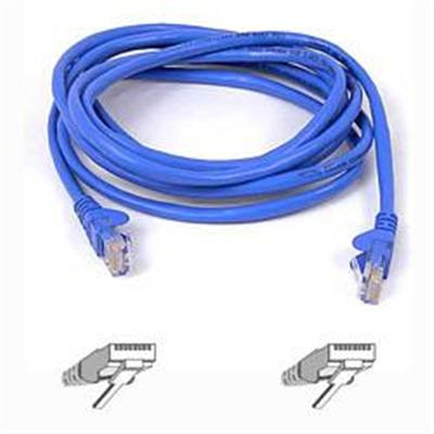 Belkin A3L791-15-BLU-S 15 Feet CAT5e Patch Cable  Snagless Molded  Blue