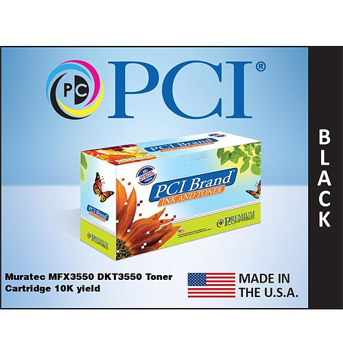 Premium Compatibles DKT3550-PCI MFX3550 DKT3550 Toner Cartridge for Muratec Printers