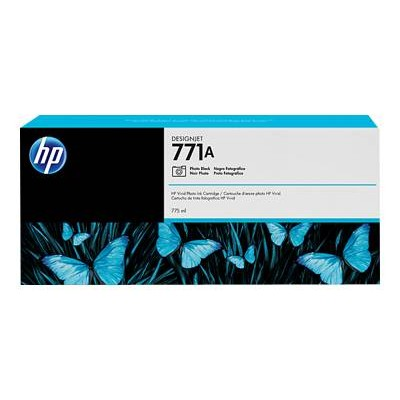 HP Inc. B6Y21A 771A 775ml Photo Black Designjet Ink Cartridge
