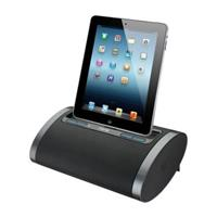 iHome iDL48 Dual Charging Portable Rechargeable Speaker with Lightning Dock and USB Charge/Play for iPad/iPhone/iPod