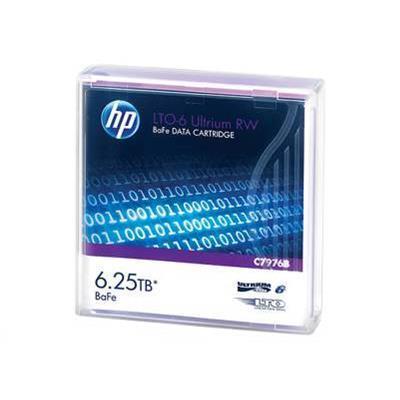 Hewlett Packard Enterprise C7976B LTO6 ULTRIUM 6.25TB BAFE RW DATA TAPE