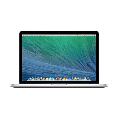 13.3 MacBook Pro with Retina display  dual-core Intel Core i5 2.6GHz (4th gen Haswell processor)  8GB RAM  256GB flash storage  Intel Iris graphics  2 Thunderbo