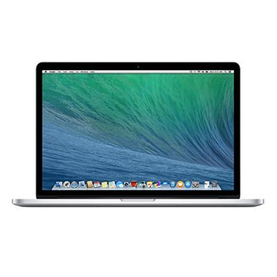 15.4 MacBook Pro with Retina display  quad-core Intel Core i7 2.3GHz  8GB RAM  256GB flash storage  Intel Iris Pro graphics  2 Thunderbolt 2 ports  802.11ac Wi-