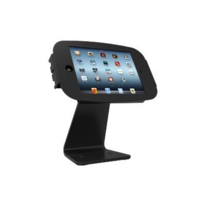 Compulocks Brands 303B224SENB iPad Secure Space Enclosure with Rotating 360° Kiosk Black - Stand for tablet - aluminum - black - for Apple iPad (3rd generation) 9826605