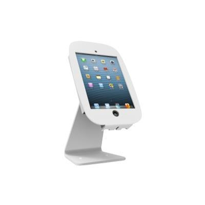 Compulocks Brands 303W224SENW iPad Secure Space Enclosure with Rotating 360° Kiosk White - Stand for tablet - aluminum - white - for Apple iPad (3rd generation) 9826607