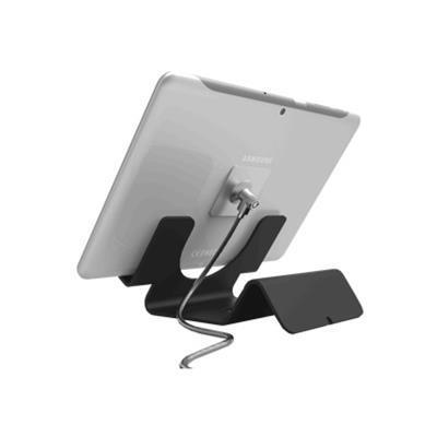 Compulocks Brands CL12UTHBB Universal Tablet Security Holder and Lock - Secure table stand - black