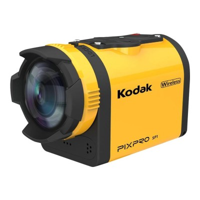 Kodak SP1-YL3 PIXPRO SP1 - Action camera - mountable - 14.0 MP - 1080p - Wi-Fi - underwater up to 30ft - yellow