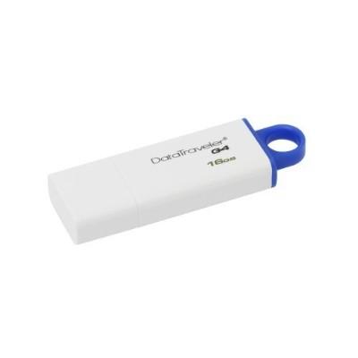 Kingston Digital DTIG4/16GB DataTraveler G4 - USB flash drive - 16 GB - USB 3.0 - blue