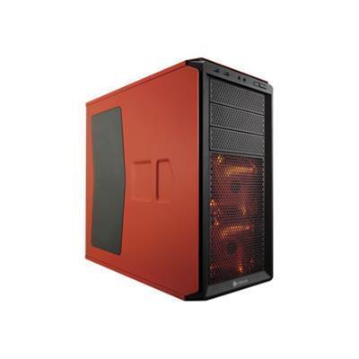 Corsair Memory CC-9011038-WW Graphite Series 230T - Mid tower - ATX - no power supply ( ATX ) - rebel orange - USB/Audio