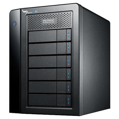 Promise P2R6HD18US Pegasus2 R6 18TB (6 x 3TB SATA) RAID System with Thunderbolt 2