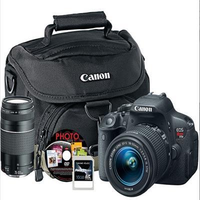 Canon 8595b003l2-5-kit T5i 18-55mm & Xtra Lens (6473a003) 16gb