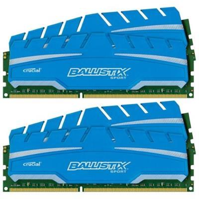 Crucial BLS4K8G3D169DS3 32GB kit (8GBx4)  Ballistix 240-pin DIMM  DDR3 PC3-12800 memory module